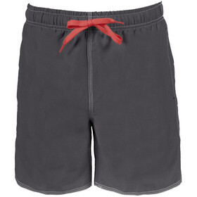 arena Fundamentals Solid Zwemboxers Heren, asphalt/red
